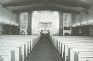 Interior of Current Church