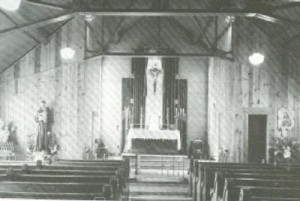 Interior of First Church